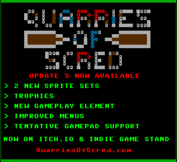 Quarries of Scred - Update 005 - Banner