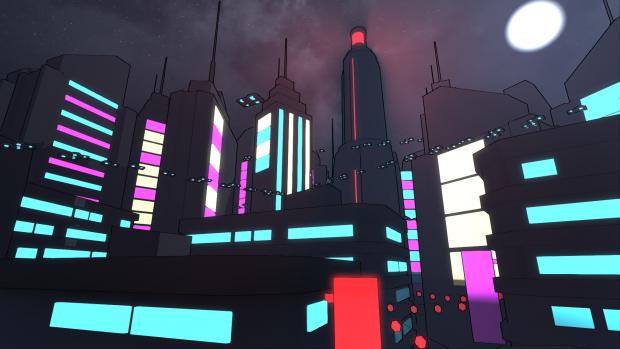 Capgras City (Night) I
