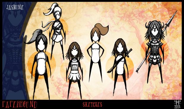 Jasmine Character Concepts