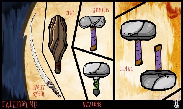 Mastodon Concepts & Sketches