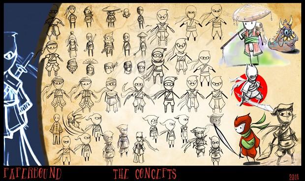 NinjEddy Character Sheets