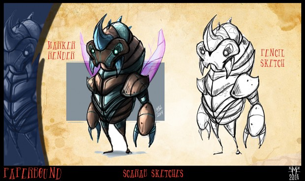 Scarab Character Concepts