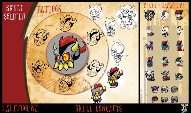 Skull Soldier Concepts