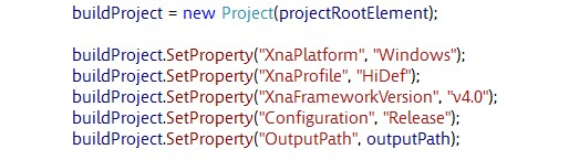 XNA dynamic content compilation without a content project tutorial