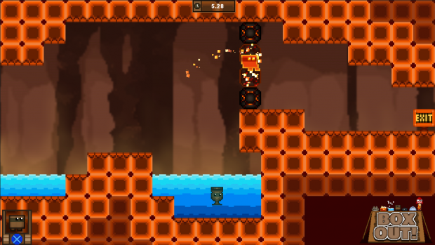 Box Out! Volcano