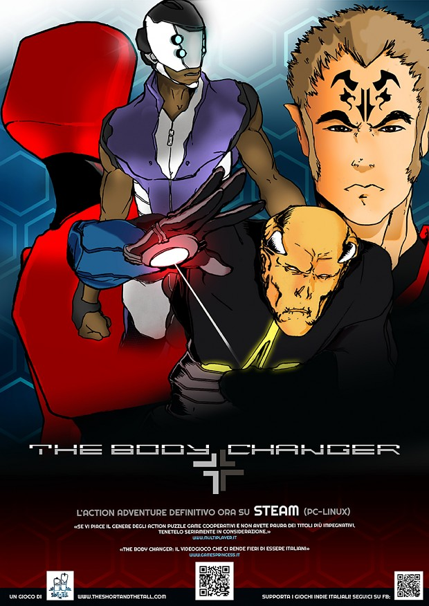 THE BODY CHANEGER poster