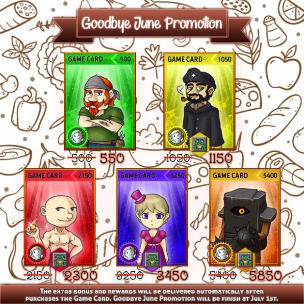 Goodbye June Promotion