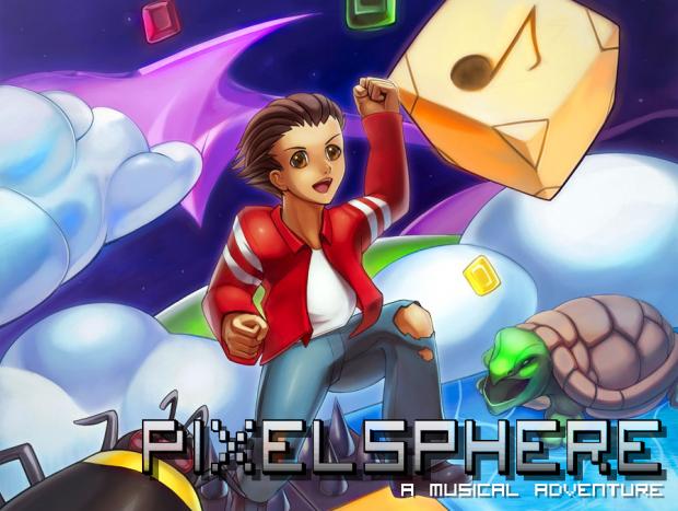 Pixelsphere Cover art