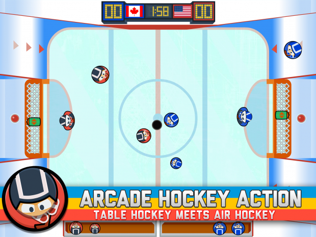Across The Table - Hockey - Screenshot 1