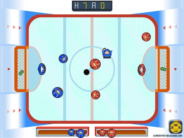 Across The Table: Hockey - Screenshot 01