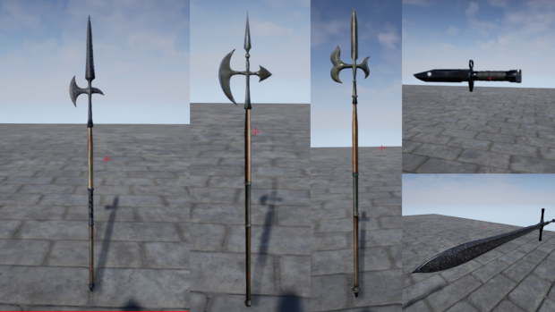 New Weapons!