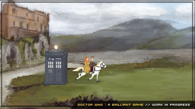 Doctor Who Brilliant Game : Work In Progress