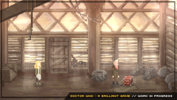 Doctor Who : Brilliant Game - WIP