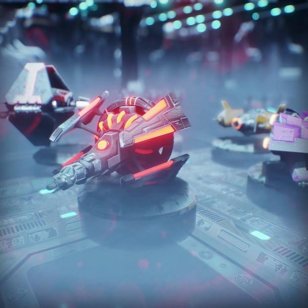 Bumbar - the spaceship (eng. bumblebee)