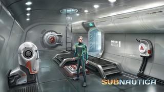 Subnautica Concept Art: Interior Sketch