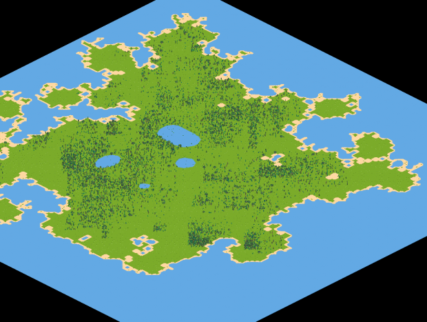 Random forests, lakes and bushes