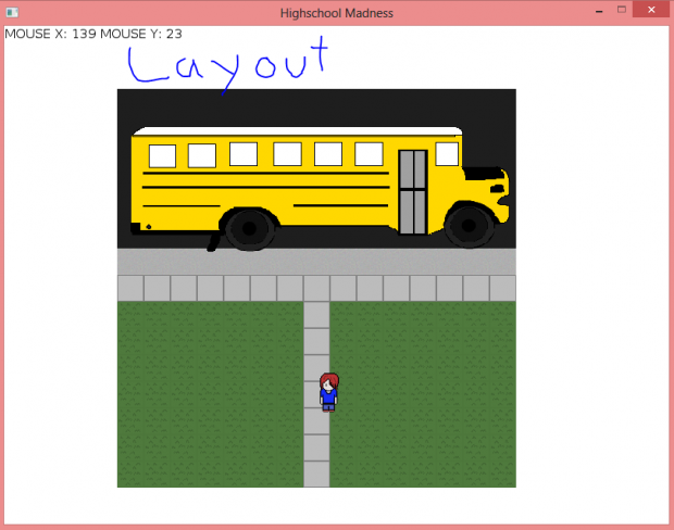 Don't miss the bus (Layout)