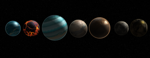 First of the New Planets