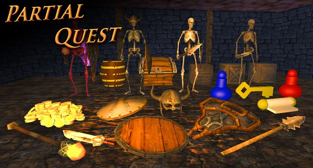 Partial Quest - Dev Assets: All the temp assets