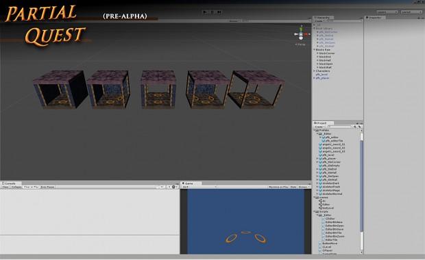 Partial Quest - 3D Dungeon Tiles (temp art)