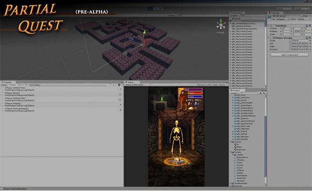 Partial Quest - UI: Minimap & Character Stats