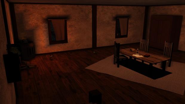 Wooden Floor - New room design