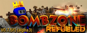 Bombzone refueled V0.7.5 (alpha 3) released