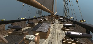 Blackwake Naval cutter ship
