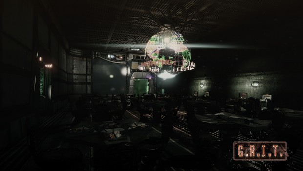 Holographic Globe/Cafeteria