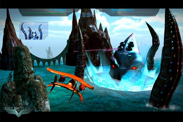 Sky Battles - Kraken level
