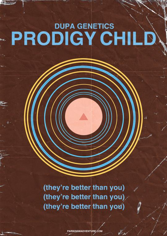 Prodigy Child Poster