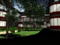 Greenhouse Walkway