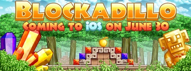 Blockadillo available for iOS on June 30th!