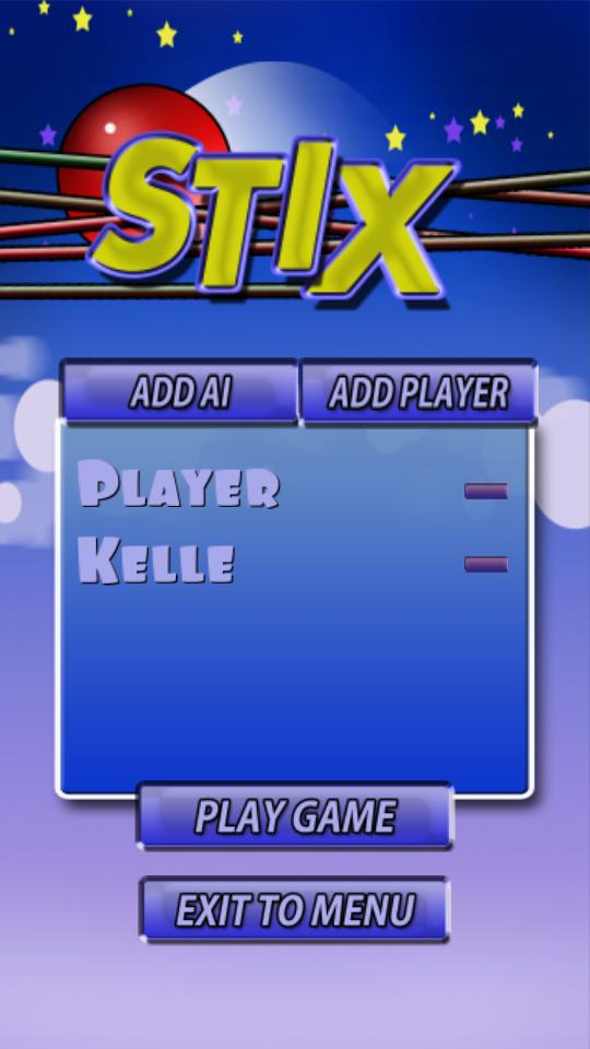 Stix In Game