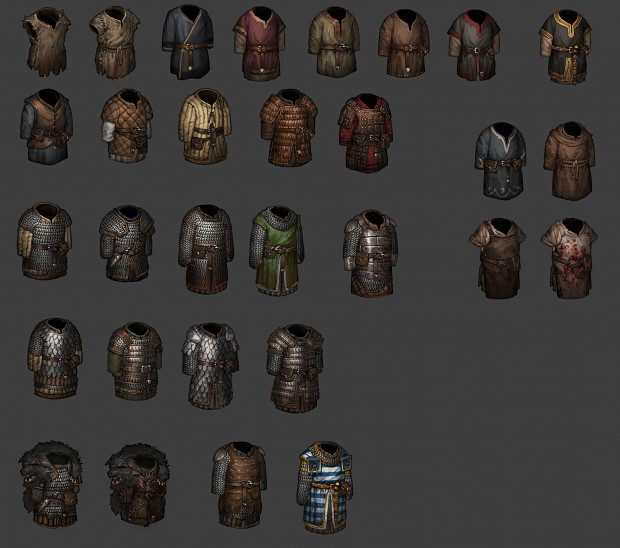Reworked Armor Overview