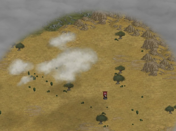 Fog of War on the explorable worldmap