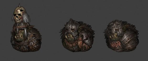 orc warrior armor