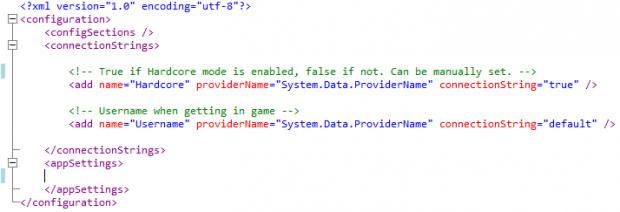 how to go into config mode