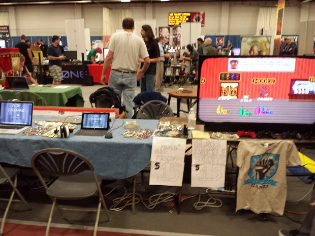 Boston Festival of Indie Games Booth