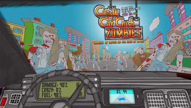 Zombies - view from Candy Car