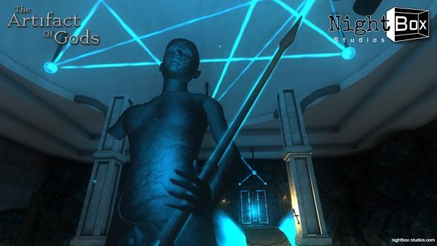 Oseyra's statue