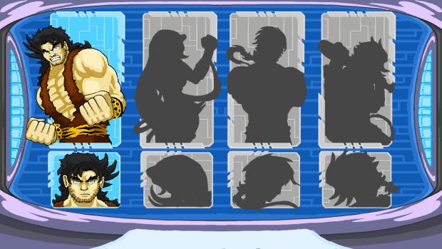 Character select early shots