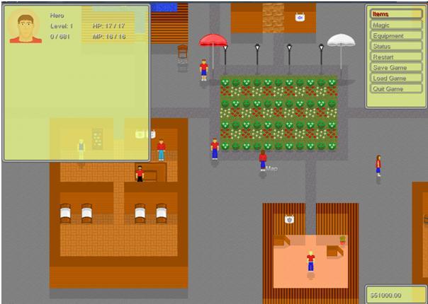 Screenshot of Sharpened Steel UI