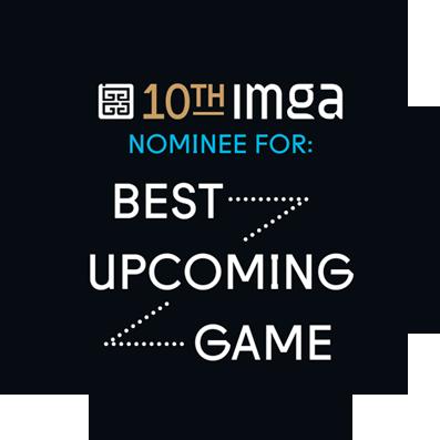 "Roll Back Home ""BEST UPCOMING GAME"" IMGA Badge"