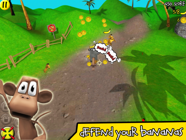 Smash The Monkey screenshots