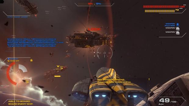 Exploding Battleship