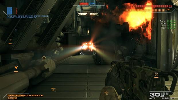 Exploding core