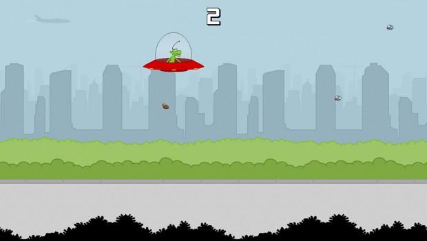 Ingame screenshot of Spaceshippy!