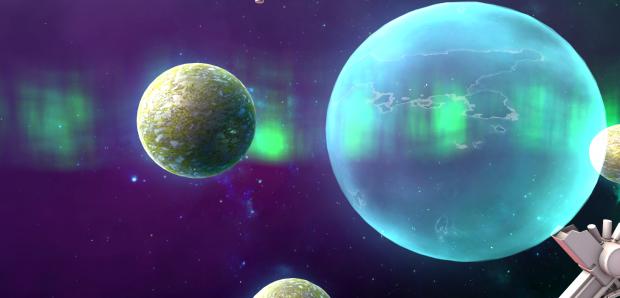 Orbital Warfare Ghost Planet