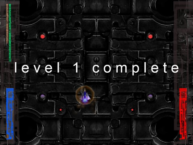 End of first level